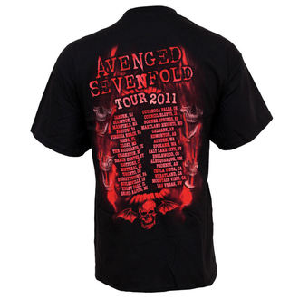 Herren T-Shirt Avenged Sevenfold - Flame Reaper Limited Tour