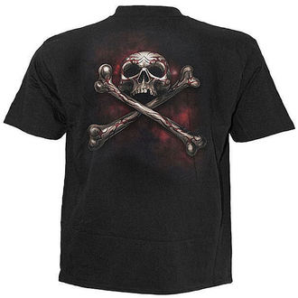 Herren T-Shirt SPIRAL - Skull Tattoo Rev