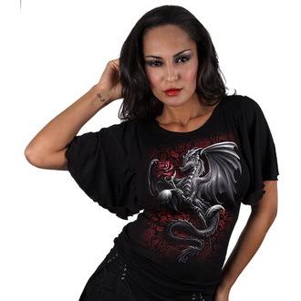 Damen T-Shirt  SPIRAL - Dragon Rose - TR326237