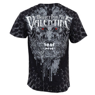 Herren T-Shirt Bullet For My Valentine - Demon All Over - Volldruck - BRAVADO USA - BFV2074