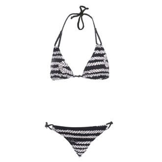Damen Bikini  IRON FIST - Sink Me String - BLACK