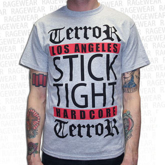 Herren T-Shirt Terror - Los Angeles - Grey - RAGEWEAR - 029TSG28
