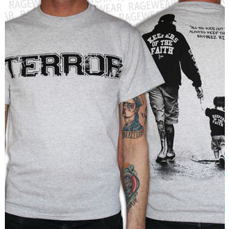 Herren T-Shirt Terror - New Blood - Grey - RAGEWEAR