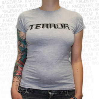 Damen T-Shirt  Terror - New Blood - Grey - RAGEWEAR - 029TSG26
