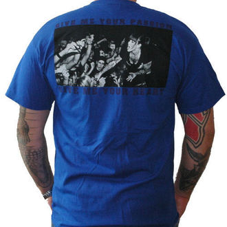 Herren T-Shirt Walls Of Jericho - Detroit - Blue/Yellow - RAGEWEAR, RAGEWEAR, Walls of Jericho