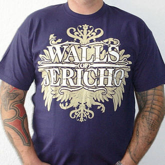 Herren T-Shirt Walls Of Jericho - New Crest - RAGEWEAR, RAGEWEAR, Walls of Jericho