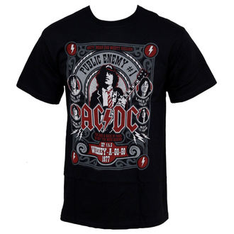Herren T-Shirt AC/DC - Public Enemy - LIQUID BLUE - 31973