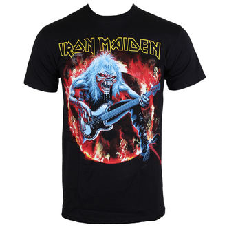 Herren T-Shirt Iron Maiden - Fear Live Flames - EMI - IMTEE07MB