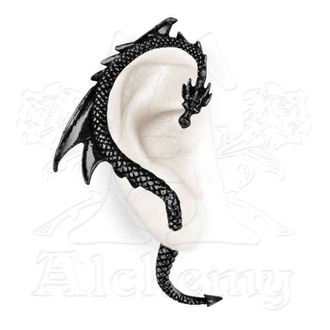 Ohrringee The Dragon´s Lure - Black - ALCHEMY GOTHIC - E274B