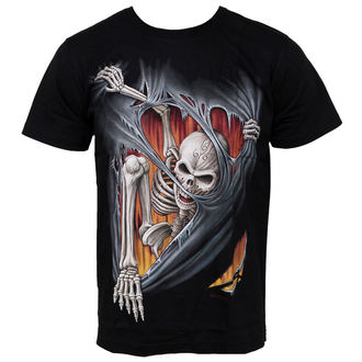 Herren T-Shirt HERO BUFF - Dirty Skull - HB177