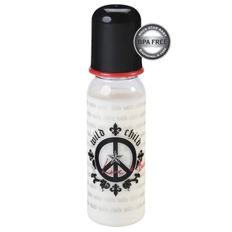 Babyflasche/Trinkflasche (250ml) ROCK STAR BABY - Peace - 90070