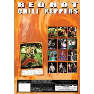 Kalender   2013 - Red Hot Chilli Peppers, Red Hot Chili Peppers