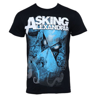 Herren T-Shirt Asking Alexandria - Hourglass - PLASTIC HEAD - PH7039