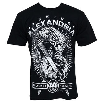 Herren T-Shirt Asking Alexandria - Snake - PLASTIC HEAD - PH6087