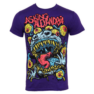 Herren T-Shirt Asking Alexandria - Eyeballs - PLASTIC HEAD - PH5926