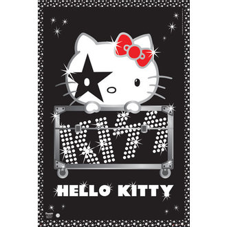 Posters Hello Kitty - Kiss Tour - No Germany - GB Posters - GN0665