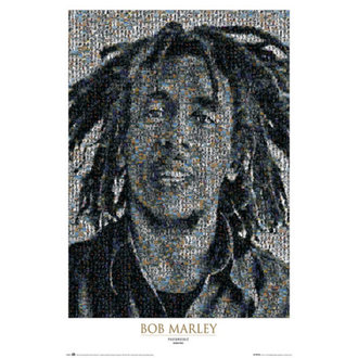 Posters Bob Marley - Mosaic II - GB Posters - LP0815