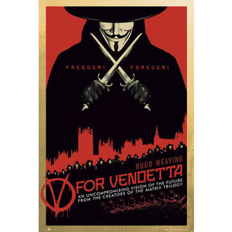 Posters V For Vendetta One Sheet - GB Posters - FP2713