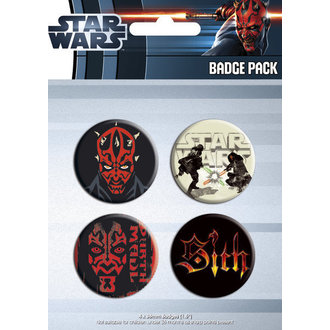 Button - Star Wars - Darth Maul - GB Posters - BP0283