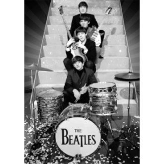 Bild 3D The Beatles - On Stage - GB Posters - LN0074