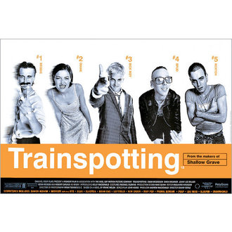 Posters Trainspotting Film Score - GB Posterss - FP0288