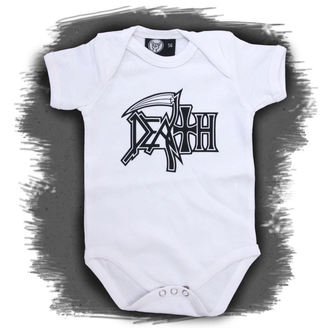 Baby Body  Death - Logo - White - Metall-Kids