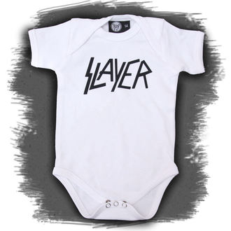 Baby Body  Slayer - Logo - White - Metall-Kids