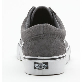 Herren Schuhe VANS - Old Skool - Suede Steel Grey - True/White