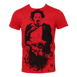Herren T-Shirt Texas Chainsaw Massacre - Red - PLASTIC HEAD - PH7229