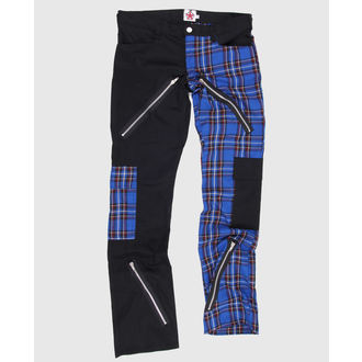 Hose Black Pistol - Freak Pants Tartan Black-Blue