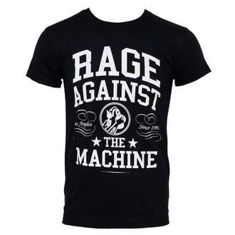 Herren T-Shirt Rage Against The Machine - College - Black - ATMOSPHERE