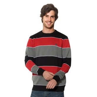 Männer Pullover HORSEFEATHERS - Brasco - RED