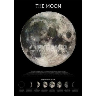 Poster The Moon - Outer Space - Pyramid Posters - PP0432