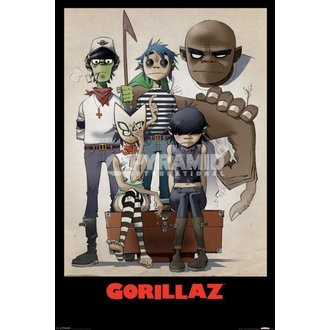 Poster Gorillaz - All Here - Pyramid Posters - PP32465