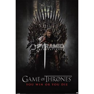 Poster Game Of Thrones - You Win Or You Die - Pyramid Posters - PP32676