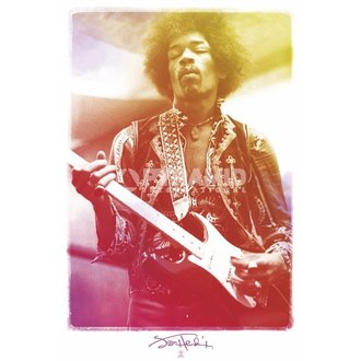 Poster Jimi Hendrix - Legendary - Pyramid Posters - PP32726