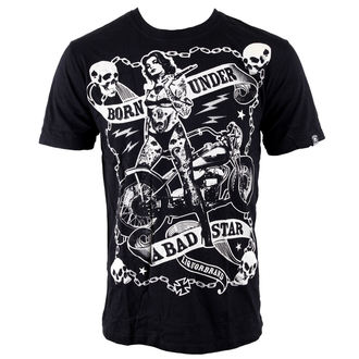 Herren T-Shirt LIQUOR BRAND - Bad Star Chick - Black