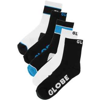 Socken -Set 5 Paare- GLOBE - Destroyer - BLK