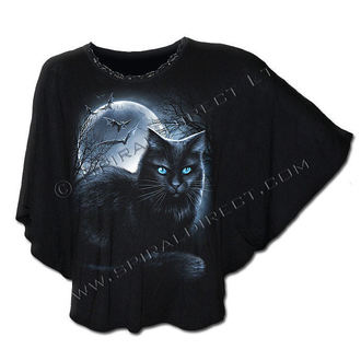 Damen T-Shirt  (Poncho) SPIRAL - Mystical Moonlight