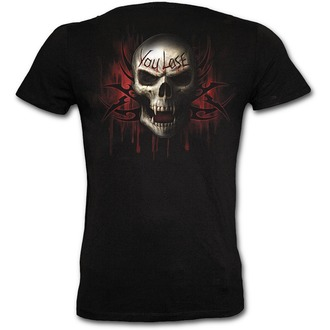 Herren T-Shirt SLIM - SPIRAL - Game Over