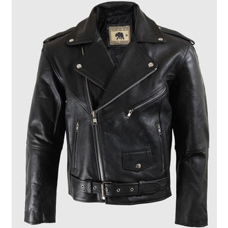 Jacke Men (Leather Jacket) RUNNING BEAR - PSY320