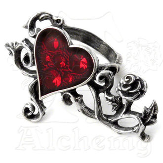 Ring Bed Of Blood Roses - ALCHEMY GOTHIC - R180
