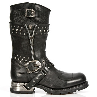 Schuhe NEW ROCK - MR022-S1 - Itali Negro