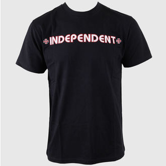 Herren T-Shirt  INDEPENDENT - Bar Cross - Black