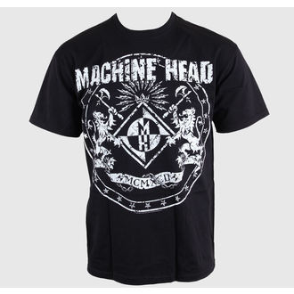 Herren T-Shirt Machine Head - Classic Crest - EMI - TSB9803