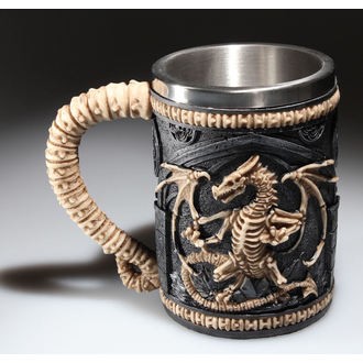 Keramiktasse  (Pott) (Humpen) Dragon Remains Tankard - AL50069