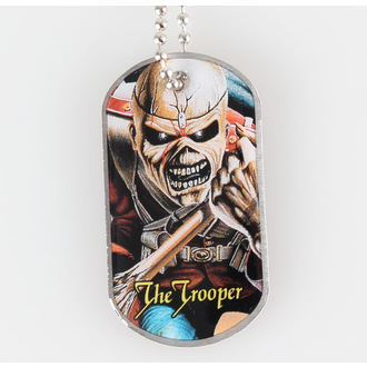 Dog Tag IRON MAIDEN - The Trooper - RAZAMATAZ - DT030