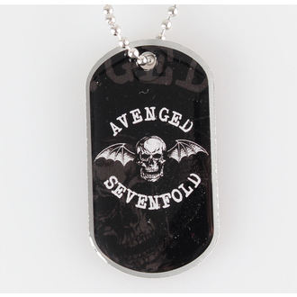 Dog Tag Avenged Sevenfold - Death Bat - RAZAMATAZ, RAZAMATAZ, Avenged Sevenfold