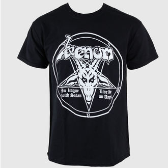 Herren T-Shirt Venom - In League With Satan - RAZAMATAZ - ST1531