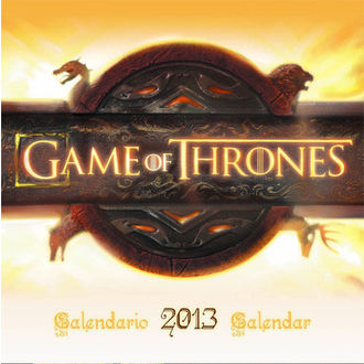 Kalender  das Jahr 2013 Game Of Thrones  - English & Spanish Version - SDTHBO02099
